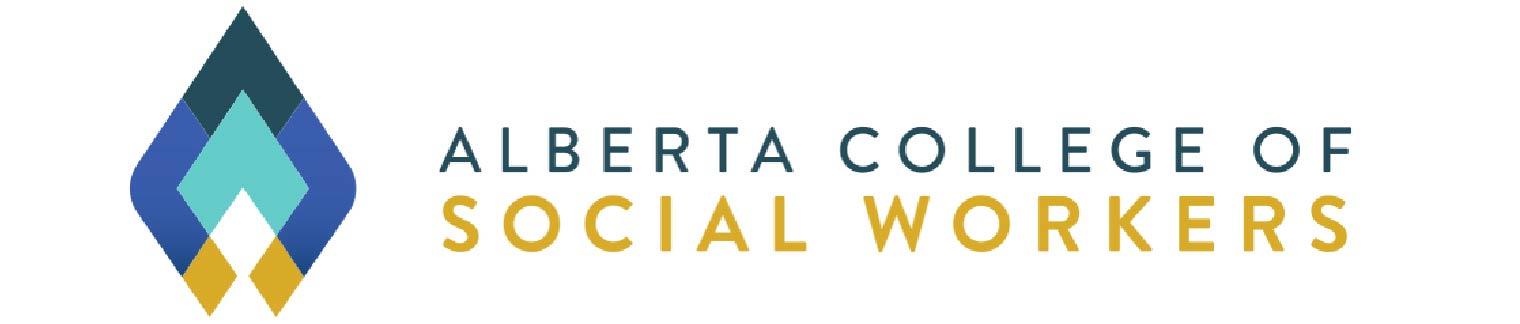 Alberta College of Social Workers Logo